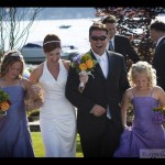 Waterfront Wedding with private dock