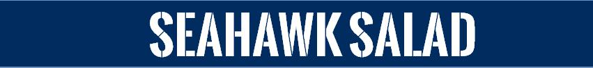 Seahawk Salad Recipe Banner