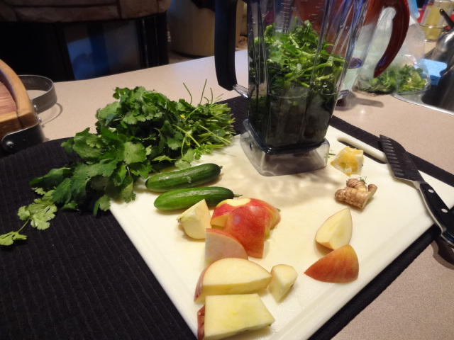 Serious Green Smoothie Recipe from Deborah Enos Certified Nutritionist