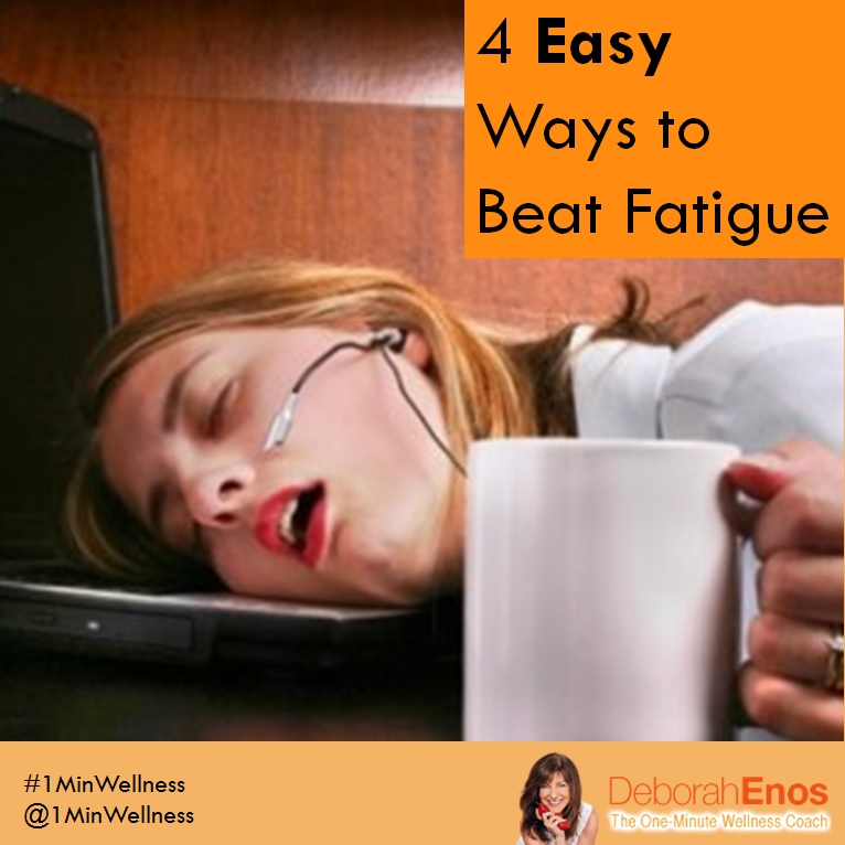 4 Easy Ways to Beat Fatigue