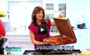 Deborah Enos The Doctors Chicago Style DeepDish Pizza