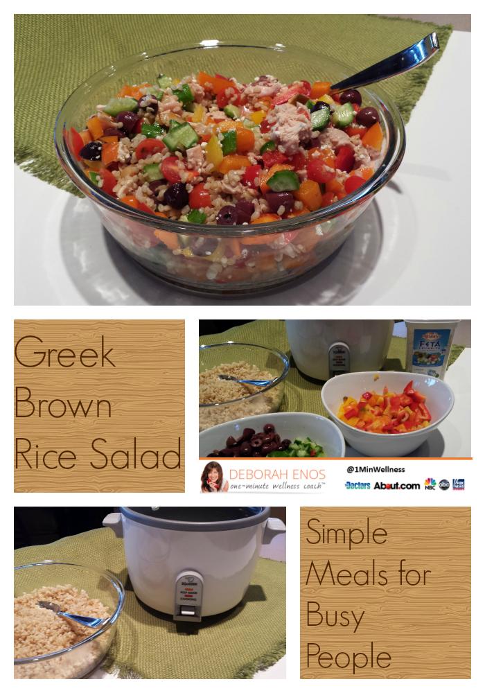 Deborah Enos Brown Rice Salad Recipe