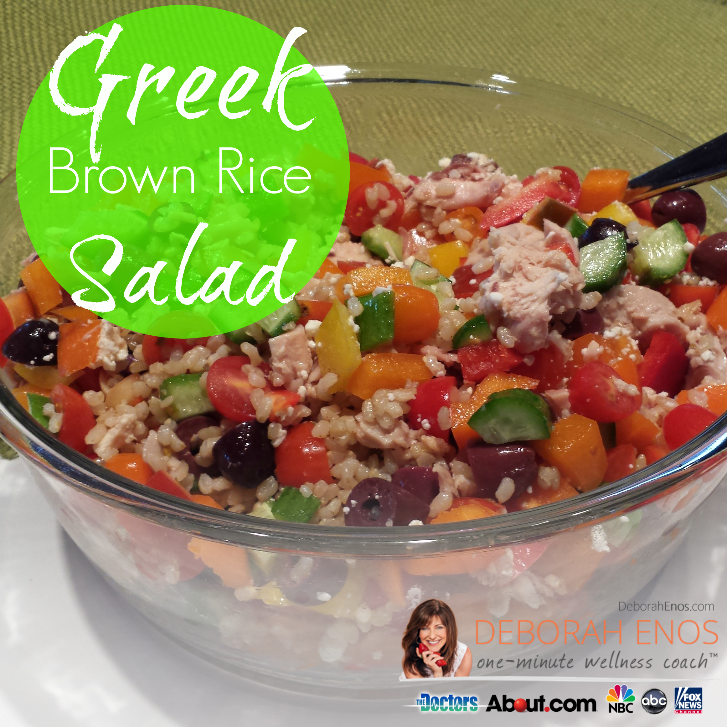 greek brown rice salad recipe